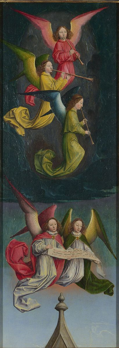 File:Simon Marmion, A Choir of Angels, ca. 1459, National Gallery, London.jpg- Pinterest