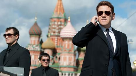 Is this agression from Russia or why Hollywood stereotypes: Russians are the bad guys?