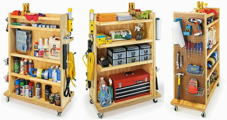 Организация хранения инструментов: home_and_garden