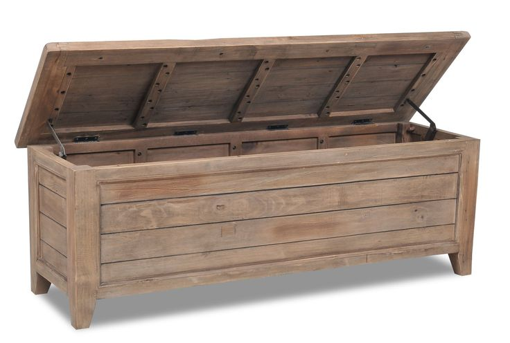 Everest Blanket Chest, Living Spaces $350. Entry bench?