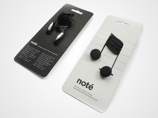 Headphones note