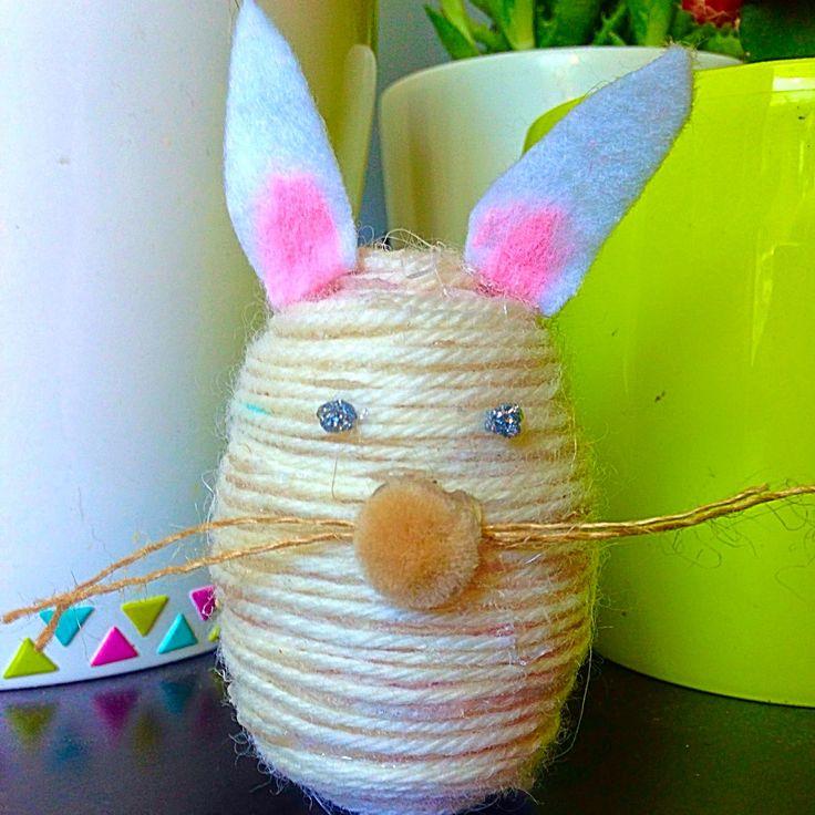 DIY Yarn Bunnies