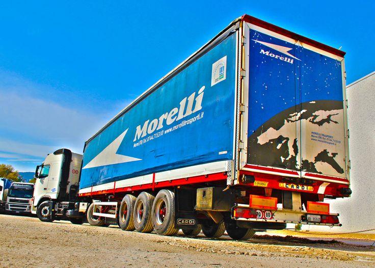 Servizi di consegna a carico completo (FTL) di qualsiasi merce non ADR su tutto il territorio nazionale. Trasporto conto terzi
