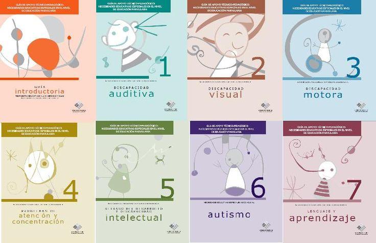 Autismo, discapacidad visual, discapacidad motora, discapacidad auditiva, discapacidad intelectual,  problemas de atención y concentración, problemas de lenguajes