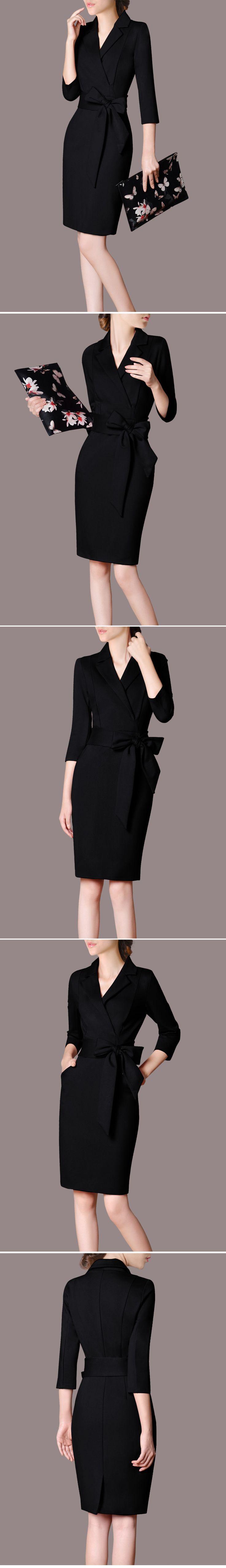 职业装女装套装春装工作服连衣裙修身时尚OL正装气质工装套装裙-tmall.com天猫
