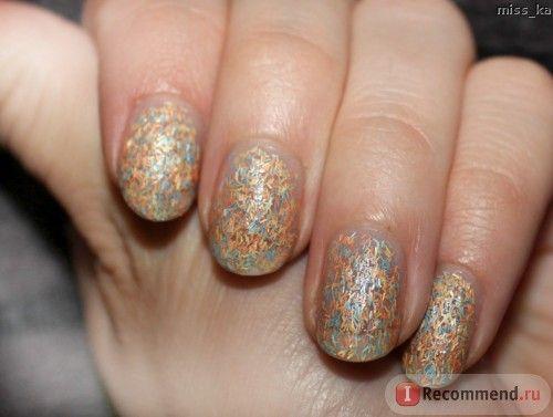 """Лак для ногтей L'Oreal Верхнее покрытие """"Колор Риш"""" Top coat confettis фото"""