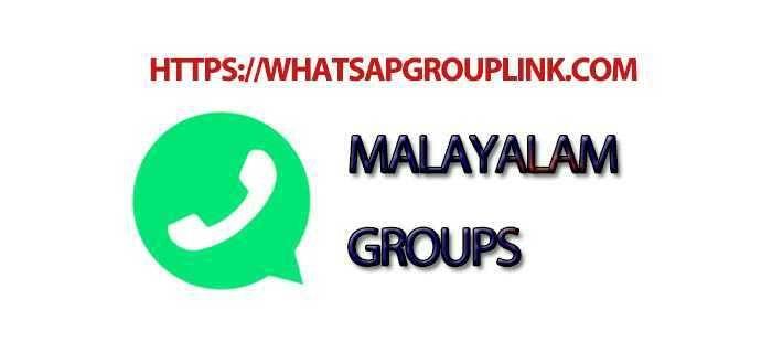 Malayalam WhatsApp Group Link   Whatsapp Group links