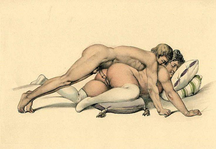 Daughter erotic kissing mother