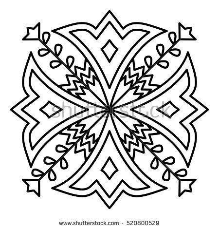 25 best ideas about simple mandala designs on pinterest