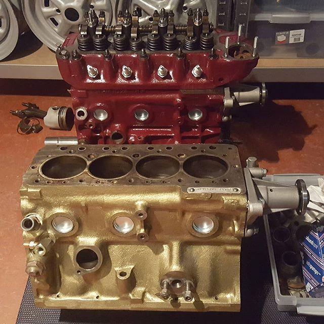 Original 1275cc GOLD seal engine fresh up  -new piston rings
