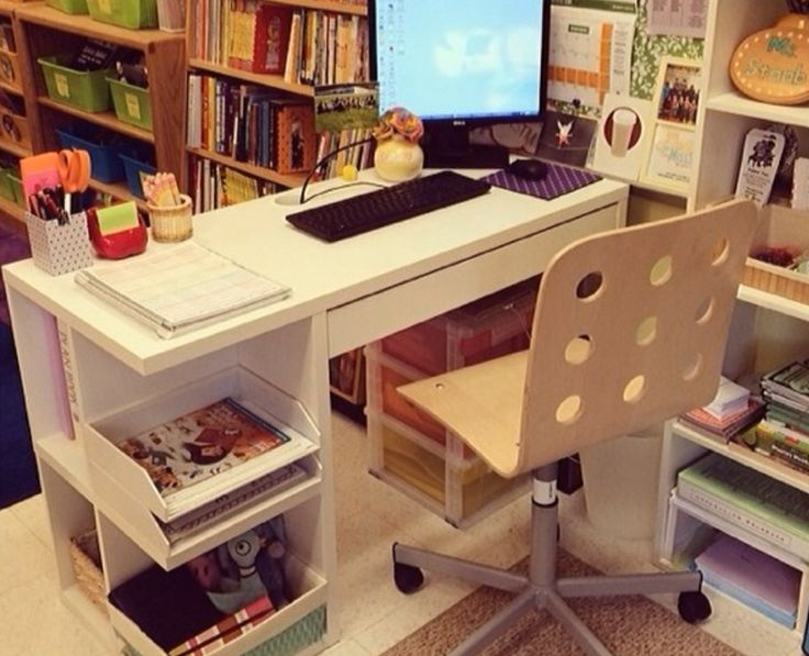 Classroom Makeover Ideas ~ Best images about teacher s desk on pinterest colored
