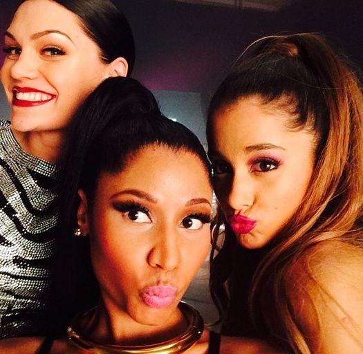 Ariana Grande, Jessie J And Nicki Minaj. 'Bang Bang' Lovin this song at the mo!