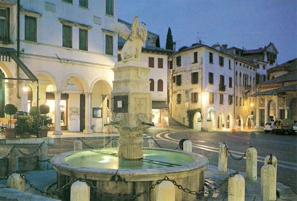 Asolo, one of the most beautiful boroughs in Italy and one of Ernest Hemingway's favorite