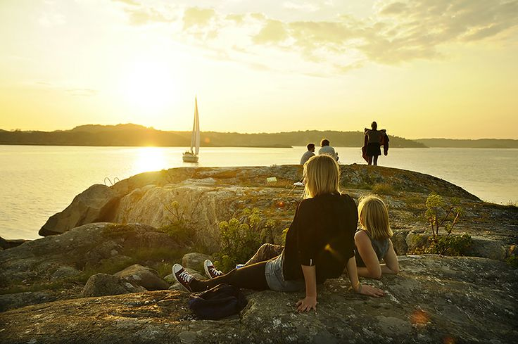 The island Knarrholmen in the #Gothenburg archipelago. │ Photo: Tim Kristensson