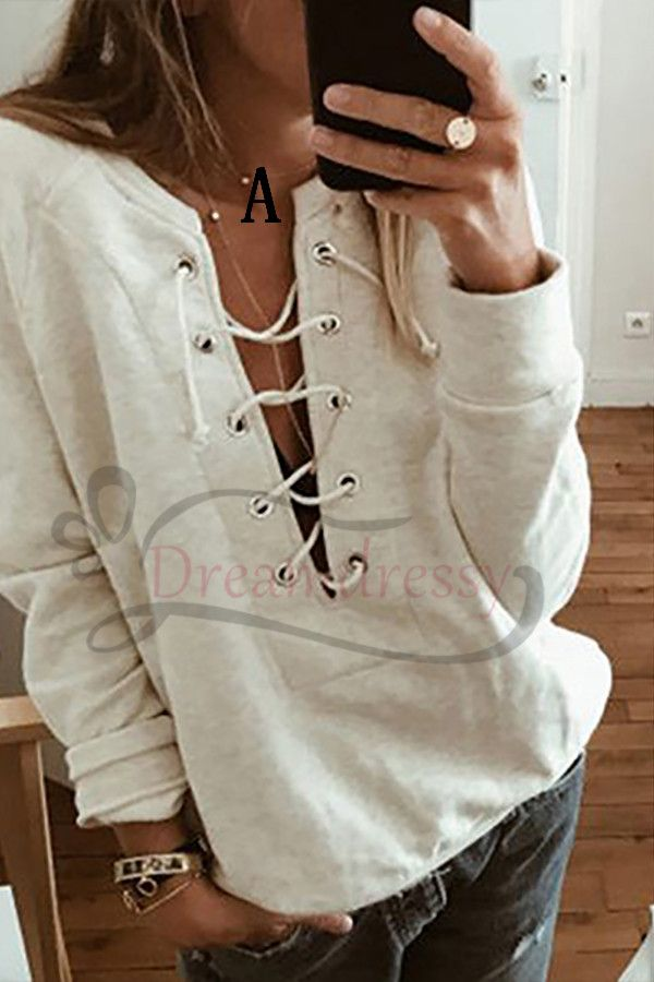 Cromoncent Womens Casual Long Sleeve Hoodie Striped Pullover Sweatshirts
