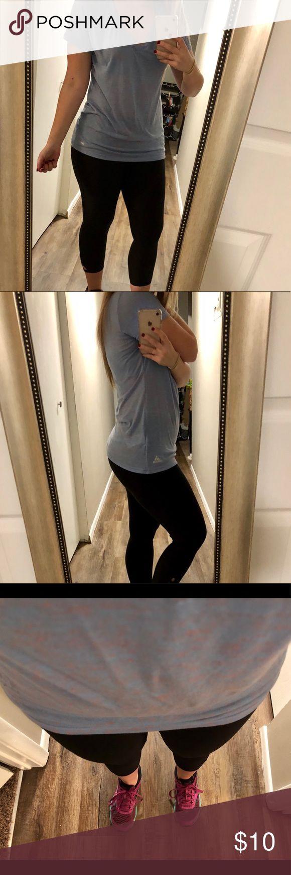 Adidas workout shirt Soooo soft, marbled purple color workout shirt! Light weight. adidas Tops Tees - Short Sleeve