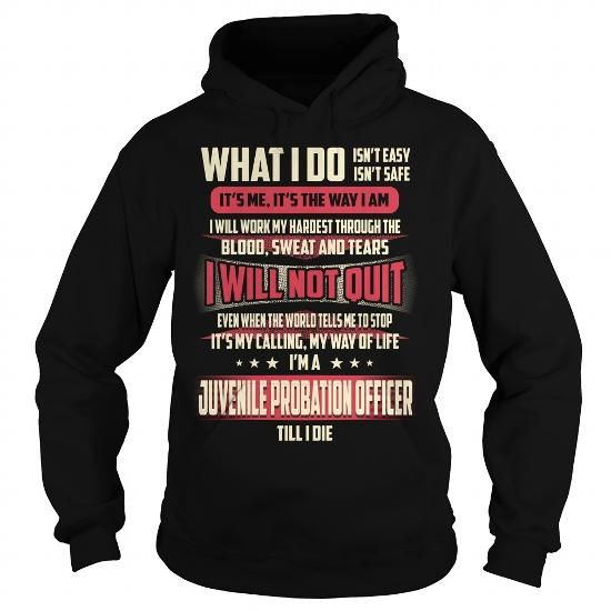 Best Work Images On   Probation Officer Hoodie