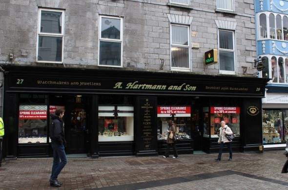 The long arm of the law stretched all the way to Holland to find and extradite 29 year old Eugene 'The Devil' Cullen, who denied the robbery of 28 Rolex and 18 Cartier Watches valued at €108,887, from Hartmann's Jewellers, William Street, Galway, on November 28, 2008