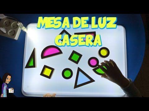DIY COMO HACER UNA MESA DE LUZ CASERA PARA NIÑOS   Maestros de Audición y Lenguaje