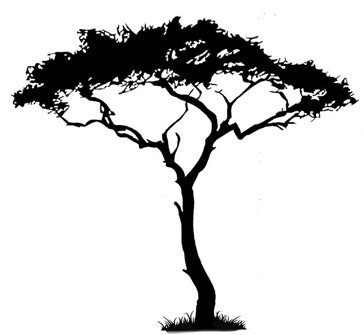 sweet silhouette clip art creative and sweet trees. Black Bedroom Furniture Sets. Home Design Ideas