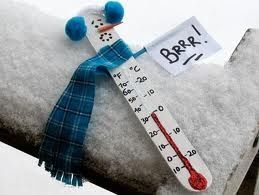 How cute would this be for the students to make when studying temperature!