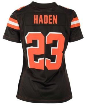 Nike Women's Joe Haden Cleveland Browns Game Jersey - Brown XXL