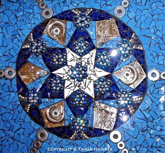 Custom Mosaic Mandala on Etsy, $550.00 AUD