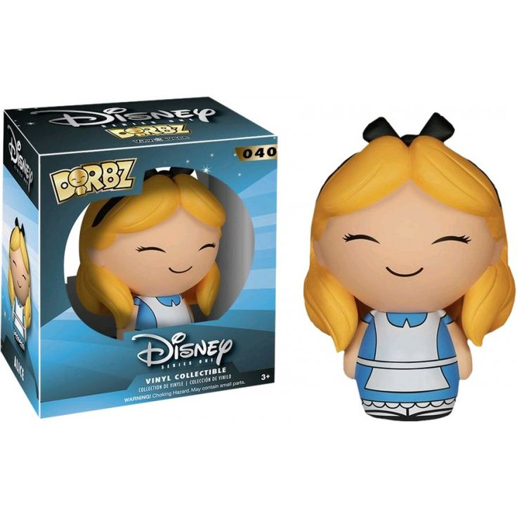 Collectable - Disney - Alice Dorbz Vinyl Figure