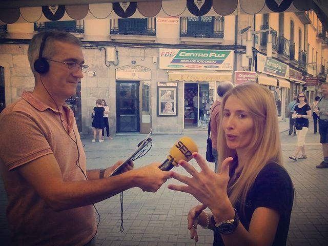 Recordando nuestra entrevista con  @la_ser  en @pontupstore ;)