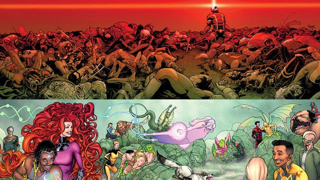 Death of X: Inhumans Aren't Good People  Death of X was goig to show us how Cyclops did something that was so horrible he would go down in history next to Hitler. It was going to show us how he finally crossed the line of no return and became a full blown villain. But it didn't. Instead it showed us that even when they freed their slaves and stopped practicing eugenics because everyone had access to the mists now that the Inhumans are just bad people deep down. That's not to say there aren't…