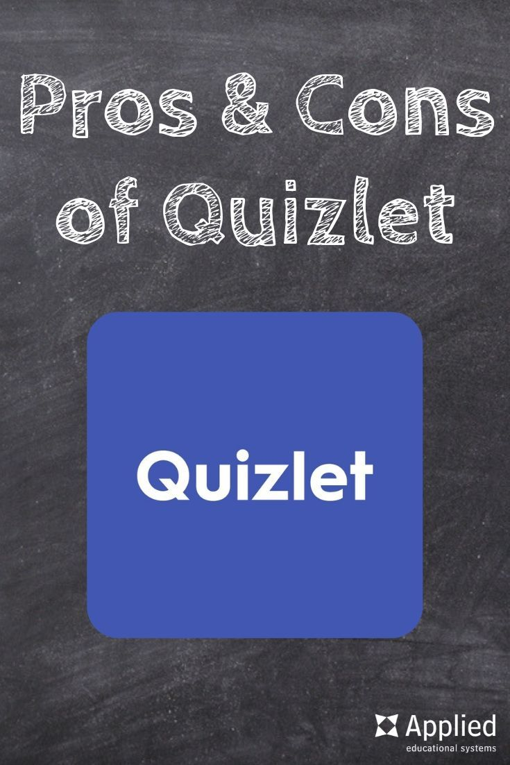 hight resolution of Pros \u0026 Cons of Using Quizlet in Your Classroom   Classroom
