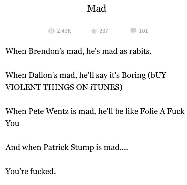 Folie a F*ck You is my new favorite saying