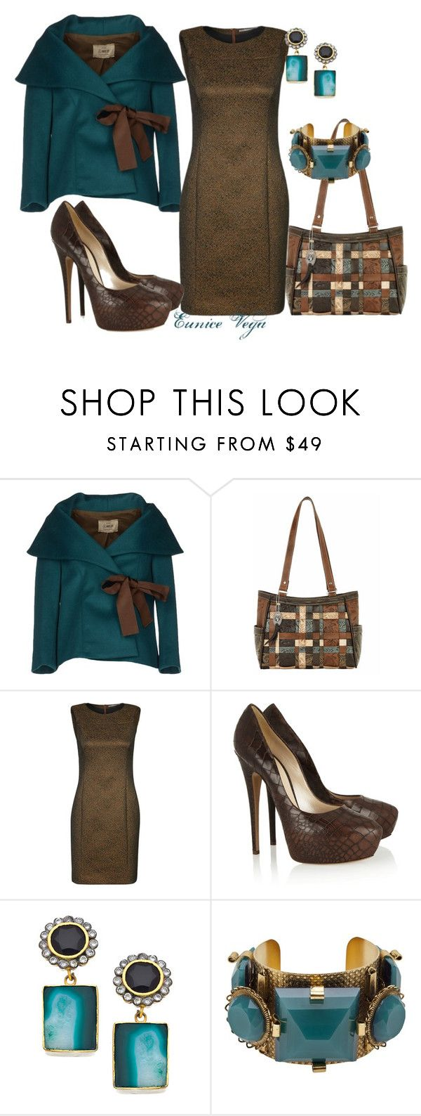 """""""Aniye By Blazer"""" by eunice-perez-de-vega ❤ liked on Polyvore featuring Aniye By, Tiger of Sweden, Casadei, Meghna Designs and Erickson Beamon"""