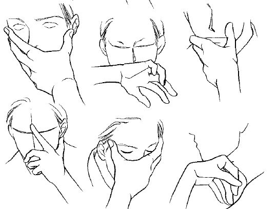 How to Draw Manga Vol. 27 Male Characters Alternate version / Hand 3