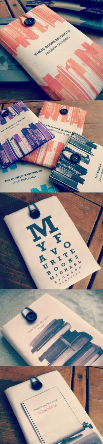 Personalised Kindle Covers designed by Letterfestcom 16
