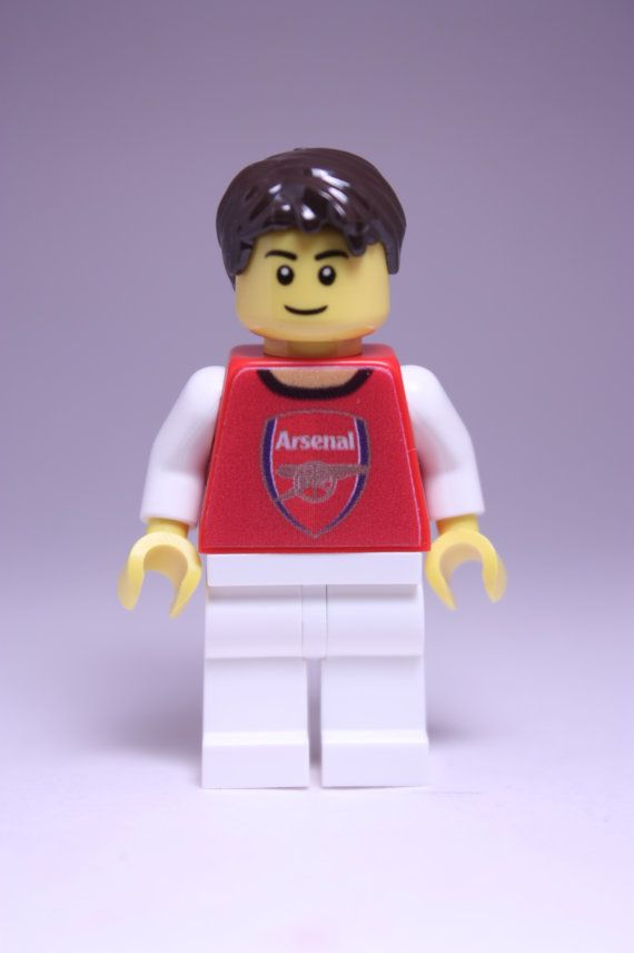 Arsenal Football Custom Lego Minifigure. Perfect by Tinkerbrick