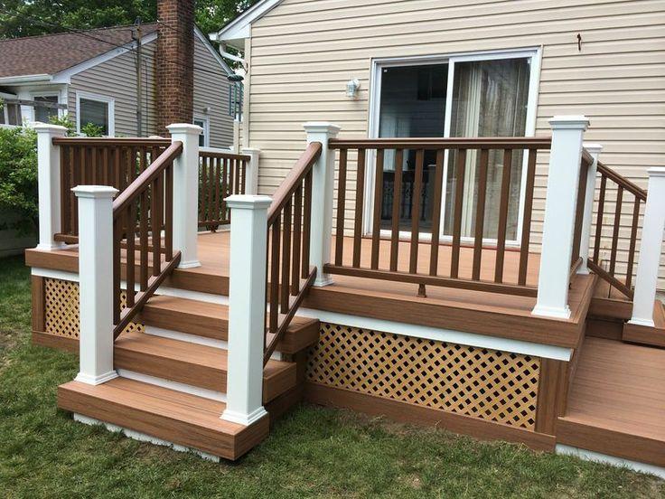 261 best Deck Ideas images on Pinterest | Backyard decks ...