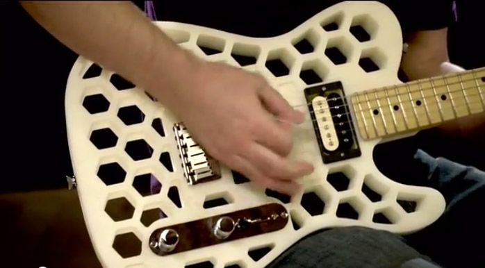 3-D Guitar Printing: A Look into Fender Innovation