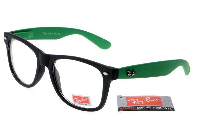 Ran-Ban Rare Print 31 Black Deep Green Frame Transparent Lens RB1011 [RB-1011] - $14.80 : Cheap Sunglasses,Cheap Sunglasses On sale