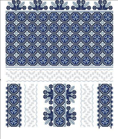 Наборы для вышивания бисером: Схеми для вишивки жіночих сорочок.