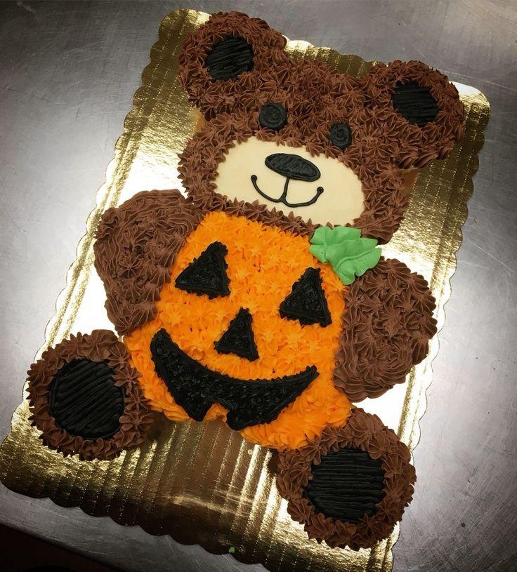 Cake Pulls, Halloween Cupcake Cake, Pull