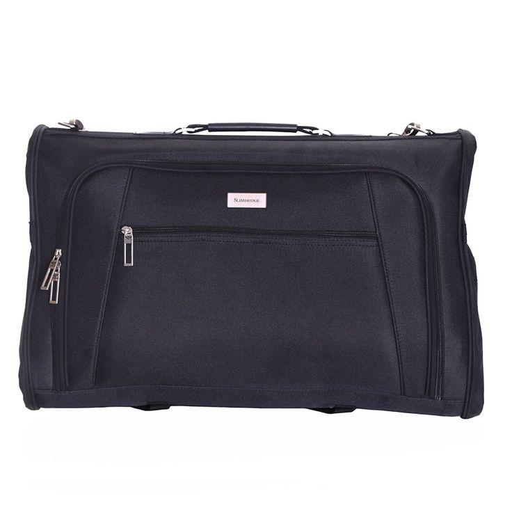 Slimbridge Rha Tri-Fold Cabin Suit Carrier, Black: Amazon.co.uk: Luggage
