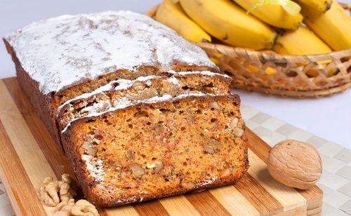 Budin de Banana y Nuez sin Gluten « Celiaco.com
