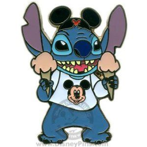 "Disney Trading Pins -  Disney's Lilo and Stitch - ""Tourist Stitch with Ice Cream"""