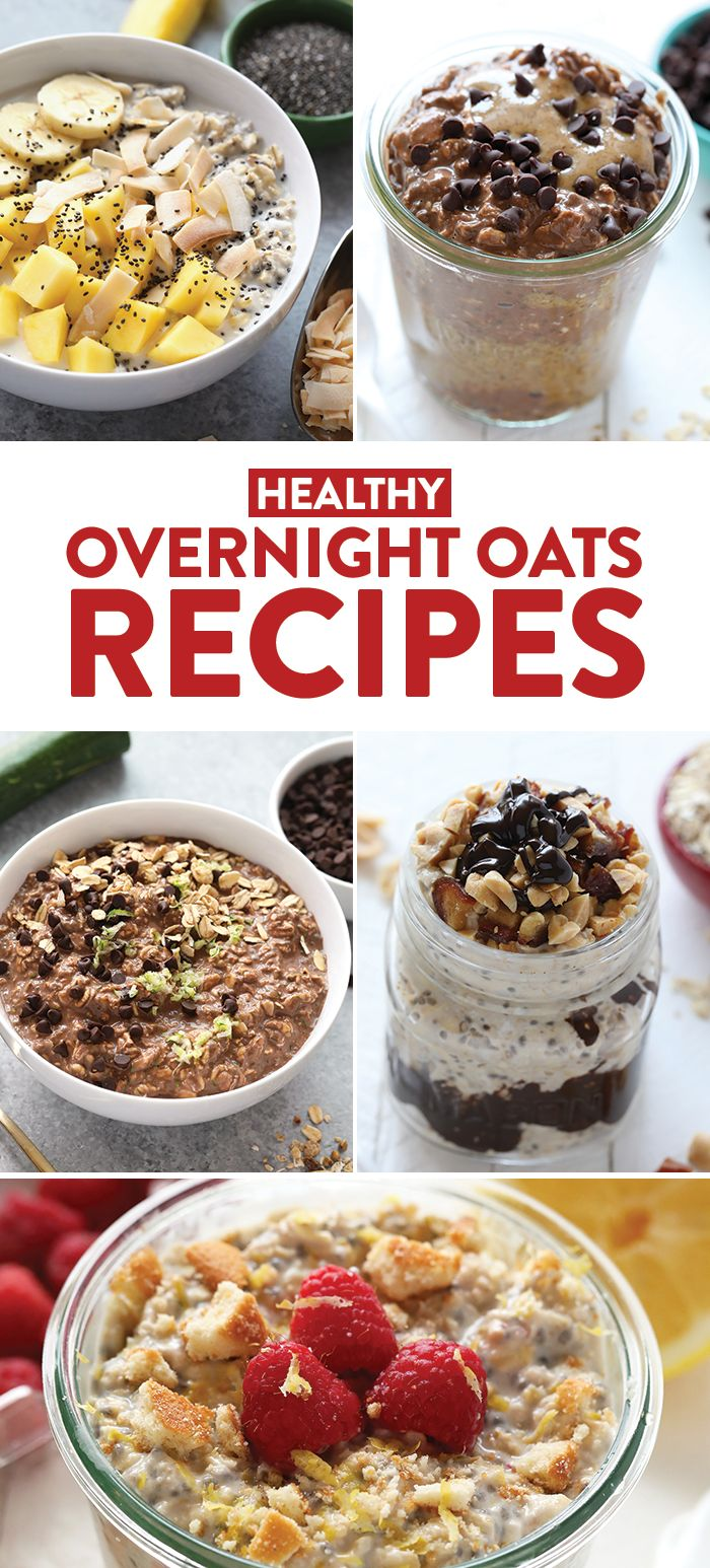 If you're looking for a grab and go breakfast that is delicious and packed with nutrition, then you can't go wrong with overnight oats! Sign up for Fit Foodie Finds' email list and get a free ebook with 5 exclusive Healthy Overnight Oats Recipes plus 10 more of our most popular overnight oats recipes from the blog.