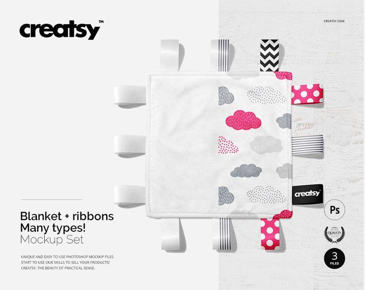 Blanket Mockup Set Ribbon Blanket Temaplate Ribbon Mockup Etsy In 2021 Mockup Free Psd Free Packaging Mockup Free Psd Mockups Templates