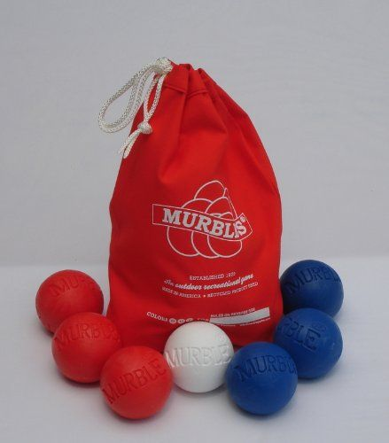 Perfect for 4th of July BBQ fun | Murbles #madeinUSA Fourth of July cookout game for all ages