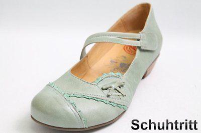 Brako Spangen Pumps grün Leder mit Klettverschluss | eBay