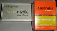 Lemon Myrtle Tea & Bickies $10.00 SPECIAL 2 for $18.00