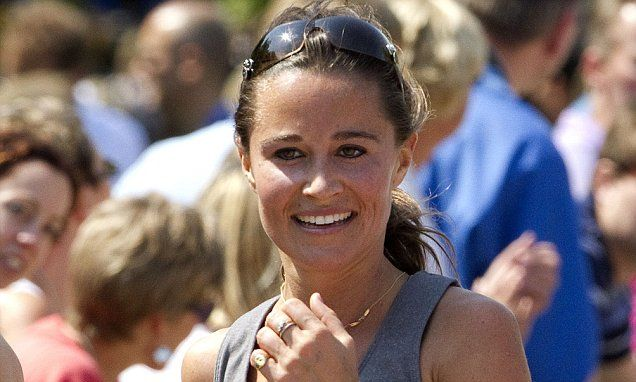 Pippa Middleton is inspired to be nutritionist by healthy eating craze